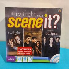 The Twilight Saga Scene it ? DVD Game New and Sealed