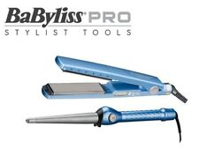 "BaByliss Pro Nano Titanium Flat Iron 1 1/4"" + Free Coni Curl 1 1/4"""