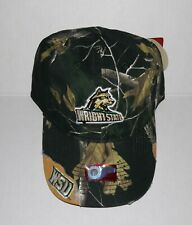 Wright State University Raiders Adjustable Buckle Hat Embroidered Distressed Cap