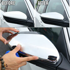 Chrome Side Door Mirror Cover Rear View Trim Bezel Fit For 2016 2017 Honda Civic