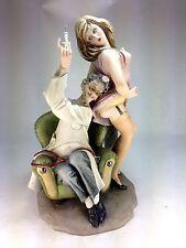 "Classic Vintage Capodimonte Porcelain Figurine 3721 ""Doctor's Delight"" Cucci"