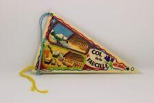 Ancien Fanion Col de la Faucille - antique touring pennant, wimpel France