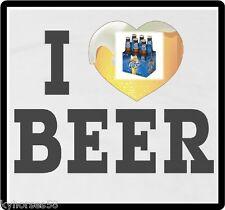 I Love Miller Lite Beer Refrigerator Magnet