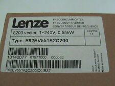 LENZE INVERTER 8200 VECTOR E82EV551K2C200