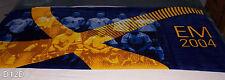 EM 2004 Football Soccer Printed Cotton Beach Towel 75cm x 150cm New