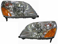 03 04 05 Honda Pilot Left & Right Headlight Headlamp Lamp Light Pair L+R
