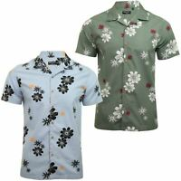 Mens Brave Soul 'Bonsai' Hawaiian Shirt