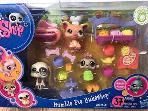 💖🐶🐷🐵Littlest Pet Shop NEW #1594 Houndog #1595 Pig #1593 Monkey NIB
