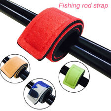 Hot Elastic Fishing Rod Tie Strap Belt Tackle Wrap Band Pole Holder Accessories