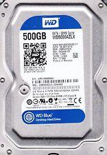 wd5000azlx-00k4ka0 DCM: earnht2ch SN: WMC1 WD 500GB SATA b10-11