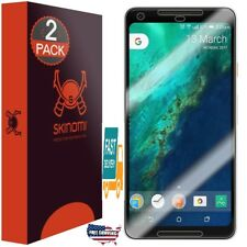 2 Pack Google Pixel 2XL Full Coverage screen protector Clear HD Anti-Bubble Film