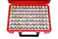 Shars 84 Pcs M6 833 916 Class Zz Steel Pin Gage Set Minus New R