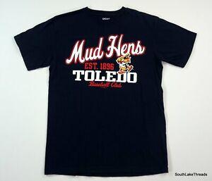 Toledo Mud Hens T-Shirt Minor League Baseball Medium MiLB EUC