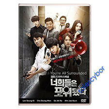 You're All Surrounded Korean Drama (5 DVD) Excellent English Subs & Quality.