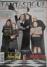 L'Ecran Fantastique n°124- 1992 : La Famille Addams Le sous-sol de la peur