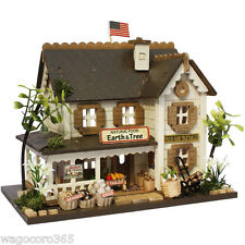 Doll House Miniature Model Kit Handcraft / Woody House Kit Food Shop / Billy