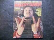 Vintage Music Magazine Kerrang! No. 27 Oct 29 Nov 18 - Dec 2, 1982 Budgie