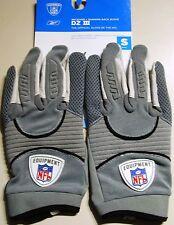 Reebok Nfl Football guantes dz III col, talla s, gris receiver + RB