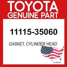 TOYOTA GENUINE 11115-35060 GASKET, CYLINDER HEAD OEM