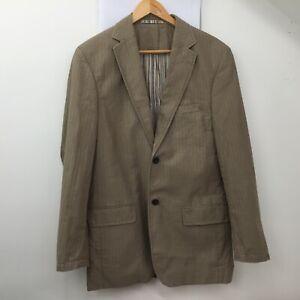 Daniel Grahame Drifter Brown Cotton Blazer Jacket Size UK 38R