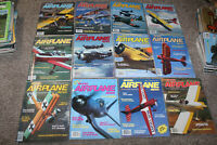 Full Year 1984 MODEL AIRPLANE NEWS Lot of 12 Airplane Building Plans NICE!!