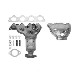 Exhaust Manifold with Integrated Catalytic Converter-Direct Fit Front 40654