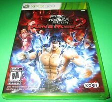 Fist Of The North Star-Ken's Rage 2 Xbox 360 Factory Sealed! Free Shipping!!