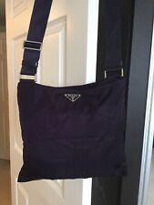 PRADA Nylon Shoulder/Cross Body Bag  Deep aubergine in colour  NEW