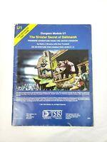 Vintage AD&D Book Adventure Dungeon Module U1 The Sinister Secret of Saltmarsh