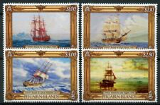 Pitcairn Islands 2019 MNH Paintings of HMAV Bounty 4v Set Art Boats Ships Stamps