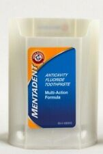 Mentadent Arm & Hammer Fluoride Toothpaste Advanced Whitening Base ONLY NEW