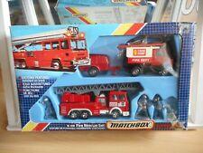 Matchbox Super Kings Fire REscue Set K-119 in Box