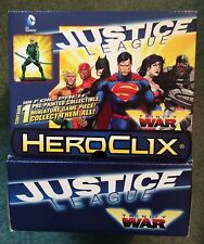 JUSTICE LEAGUE: TRINITY WAR HEROCLIX 16 GRAVITY FEED BOOSTERS