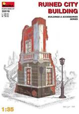 MiniArt - Ruined City Building 35519 1:35 Scale Model Scenery