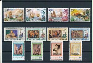 D193677 Barbuda Nice selection of MNH stamps
