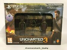 UNCHARTED 3 EXPLORER COLLECTOR'S EDITION - PS3 - NUOVO NEW PAL ITA VERSION