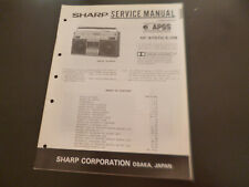 Original Service Manual Schaltplan  Sharp GF-9797H/E/HB
