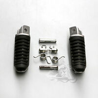 Front Footrest Foot Fit For Suzuki Hayabusa GSX1300R Bandit GSF1200 1250 B-King