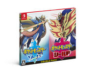 Pokemon Sword Shield Double Pack Nintendo Switch Japanese/English/Others F/S NEW