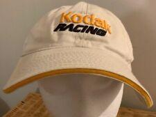 Vintage Trucker Hat Kodak Racing nascar Rare embroidered Cap