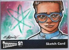 Thunderbirds 50 Years Sketch Card by Daniell Ellison of Brains