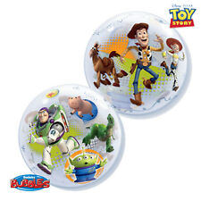 "NEW Disney Toy Story 22"" Qualatex BUBBLE Balloons Birthday Party Supplies~"