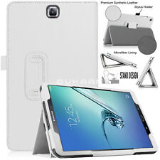 "Leather Magnetic Flip Cover Case Fits Samsung Galaxy Tab S2 9.7"" SM-T810 SM-T815"