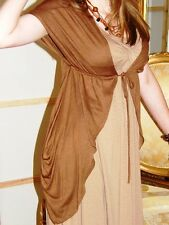 Long Jersey Dress dress & Shrug UK 8-10