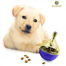 SunGrow Shaking Q Ball for dog and cat - Happy Time Food Dispenser, Increases IQ