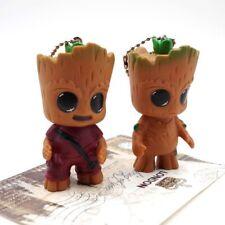 2x Keyring Guardian of the Galaxy Vol.2 Baby Groot Figur Porte-clés cadeau jouet