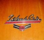 Winkler Stewart Warner Corp. SW Logo Badge Tin Metal Plate by Mayer Co. Indiana