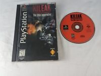 Kileak: The DNA Imperative Sony PlayStation 1 PS1 LONG BOX COMPLETE