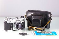 Classic Rangefinder Russia KIEV 4AM +HELIOS-103 1.8/53 Cla Tested Excelent +