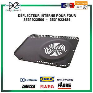 Plaque ventilateur  pour four Electrolux Zanussi AEG IKEA 3531923500-3531923484